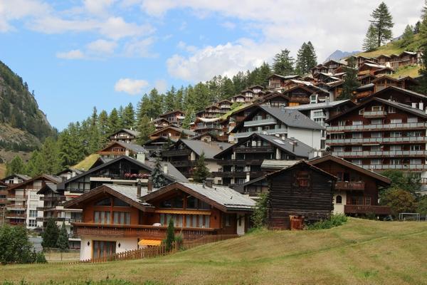 スイスの家